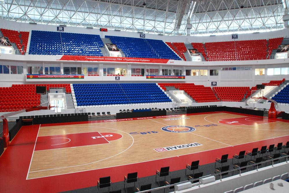 краснодар баскет холл фото