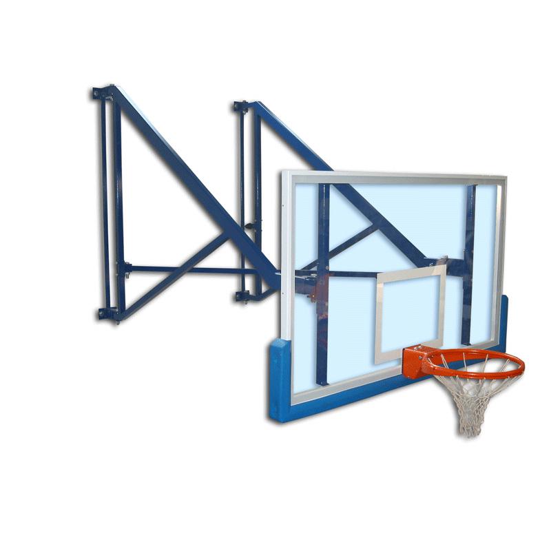 ard folding basketball backstop - 800×800