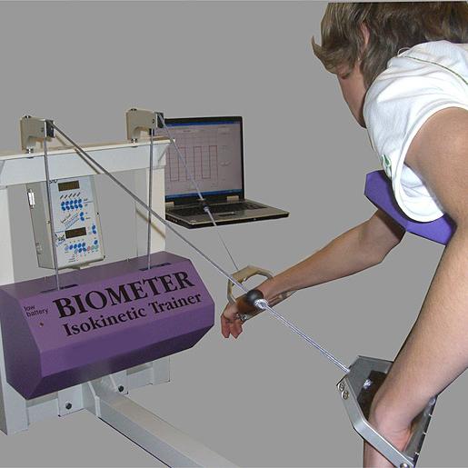 Специализированный изокинетический тренажер для пловцов Biometer - Оснащение спортивных сооружений