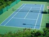 Спорт-Лайн оборудовал теннисные корты спортоборудованием, спортивными покрытиями и табло