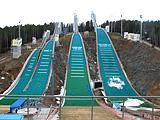 Лыжные трамплины