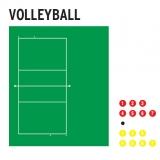Доска тактическая для волейбола 56572