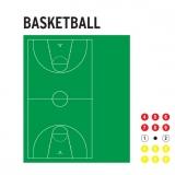 Доска тактическая для баскетбола 56573