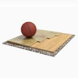 Спортивный паркет для баскетбола TRENTO SOLID, сертифицирован FIBA