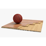 Спортивный паркет для баскетбола TRENTO, сертифицирован FIBA