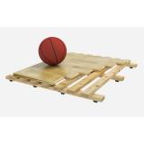 Спортивный паркет для баскетбола SPLUGA, сертифицирован FIBA