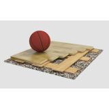 Спортивный паркет для баскетбола SONDRIO, сертифицирован FIBA