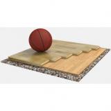 Спортивный паркет для баскетбола SONDRIO 1, сертифицирован FIBA