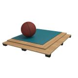 Спортивный паркет для баскетбола RUBBER, сертифицирован FIBA