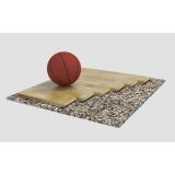 Спортивный паркет для баскетбола ORTLES, сертифицирован FIBA