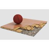 Спортивный паркет для баскетбола BERNA, сертифицирован FIBA