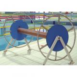 Катушка для хранения разделительных дорожек в бассейнах и фитнес-центрах