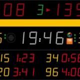 Универсальное табло для игровых видов спорта, модель 452 MF 3123