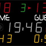 Универсальное табло для игровых видов спорта, модель 452 MF 7120