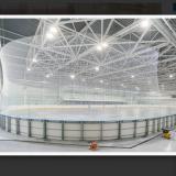 Борт для хоккея с шайбой с ограждением из закаленного стекла - IIHF