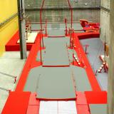 Яма для приземления напольная со встроенной платформой