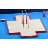 Комплект матов зоны приземления  для  параллельных брусьев - Сертификат FIG
