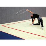 Покрытие ковровое для соревнований по художественной гимнастике с липучками велкро - Сертификат FIG