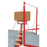 Платформа доступа для разновысоких брусьев и перекладины