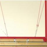 Рама с кольцами для крепления к потолку, не регулируемая по высоте