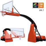 Стойка баскетбольная передвижная модели Hydroplay ACE. Сертификат FIBA.