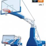 Стойка баскетбольная передвижная модели Hydroplay official. Сертификат FIBA.