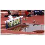 Препятствие для стипль-чеза для установки перед ямой с водой. Сертификат IAAF.