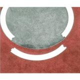 Круг для метания молота перенастраиваемый в круг для метания диска