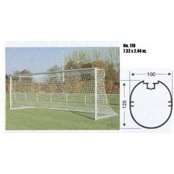 Ворота футбольные передвижные 110