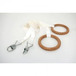 Кольца гимнастические со стропами