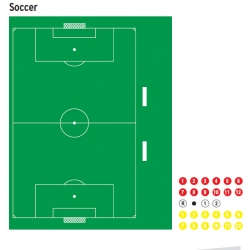 Доска тактическая для футбола 56570