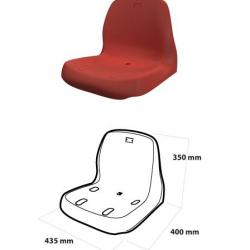 Сиденье индивидуальное с высокой спинкой