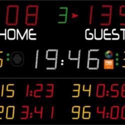Универсальное табло для игровых видов спорта, модель 452 MB 3023