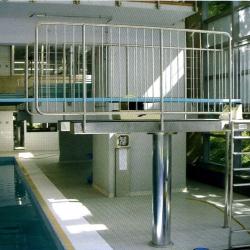 Вышка для прыжков в воду с регулировкой высоты Hydraulic Tower