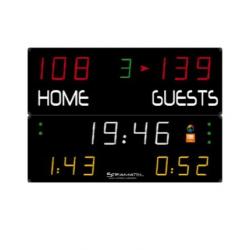 Универсальное табло для игровых видов спорта, модель 452 MF 7000.