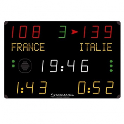 Универсальное табло для игровых видов спорта, модель 452 MS 7100