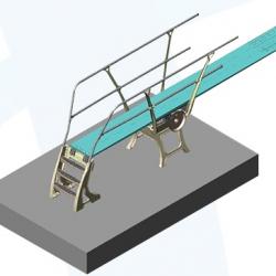 База для 1но метрового трамплина