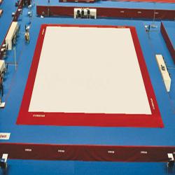 Ковер 14 х 14 м для соревнований и тренировок по спортивной гимнастике - Сертификат FIG