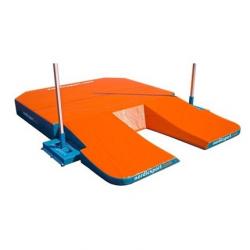 Место приземления для прыжков с шестом, модель World Cup 4 Monocube. Сертификат IAAF.