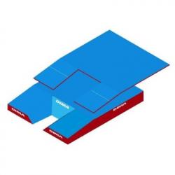 Место приземления для прыжков с шестом, модель Club comfort Plus single cover