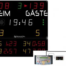 Универсальное табло для игровых видов спорта, модель 452 MS 3003