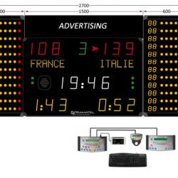 Универсальное табло для игровых видов спорта, модель 452 MS 7120-2