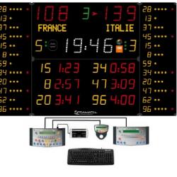 Универсальное табло для игровых видов спорта, модель 452 MB 3123-2